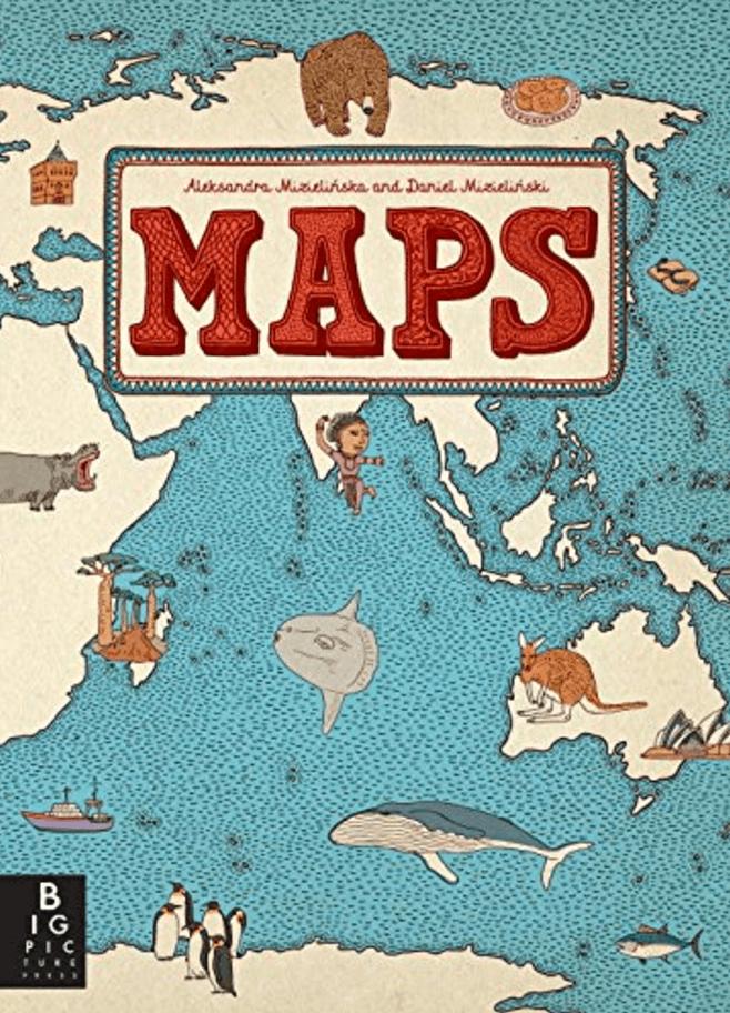 Maps ~ Best Travel Books for Children
