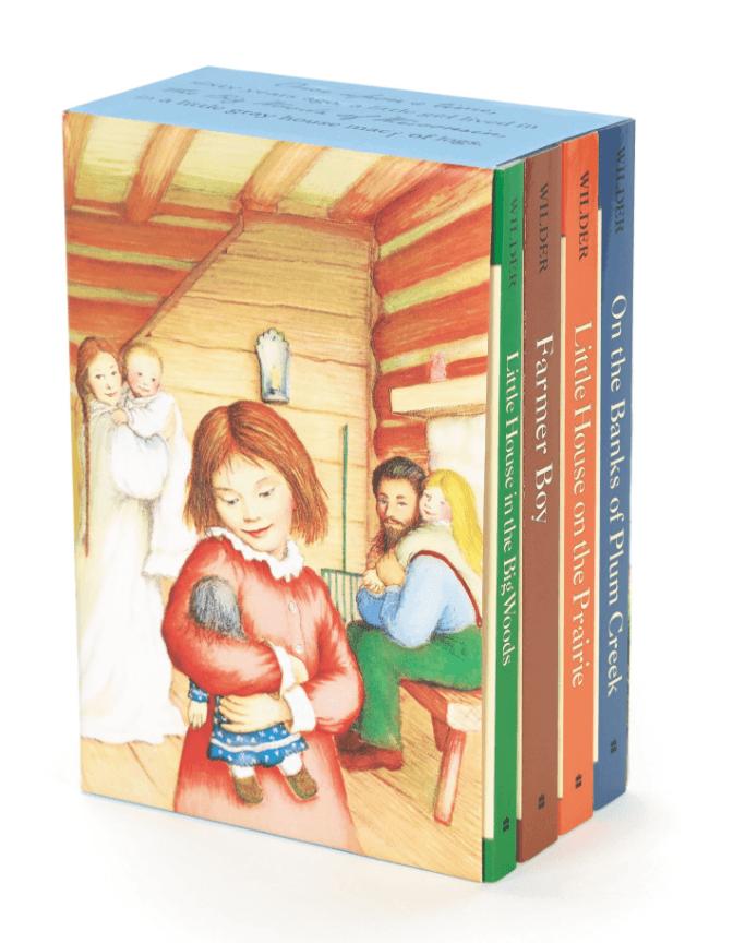 Little House on the Prairie series ~ Best Travel Books for Children