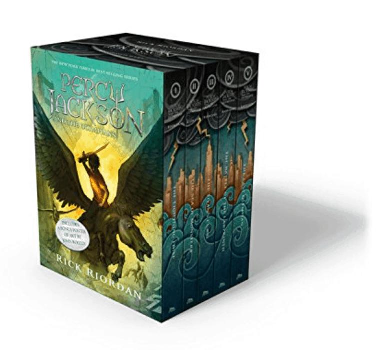 Percy Jackson series ~ Best Travel Books for Children