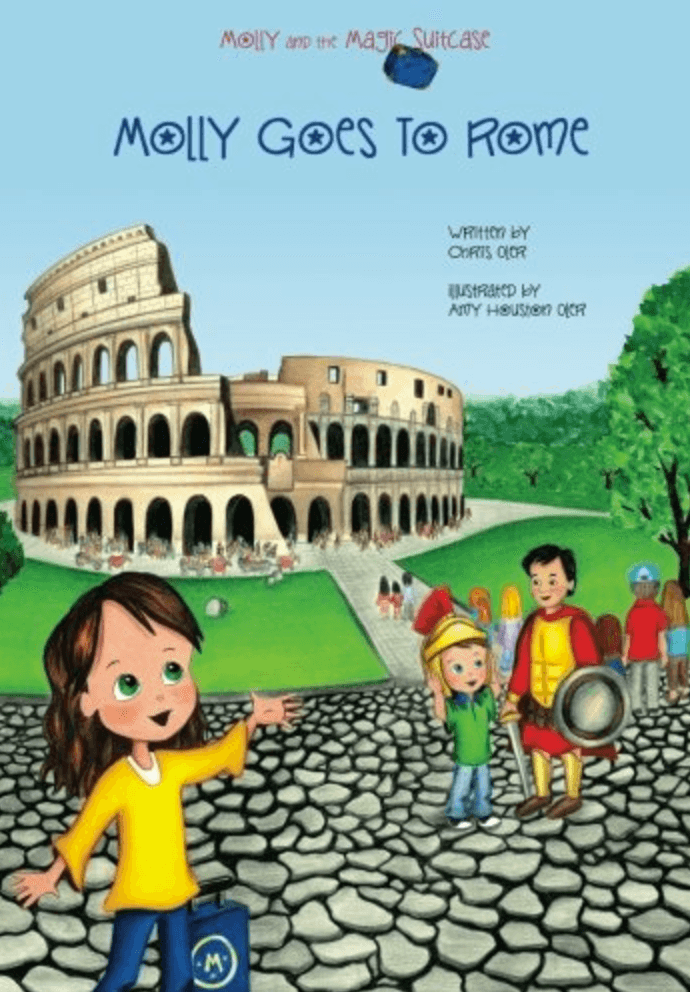 Molly Goes to Rome ~ Best Travel Books for Children of All Ages