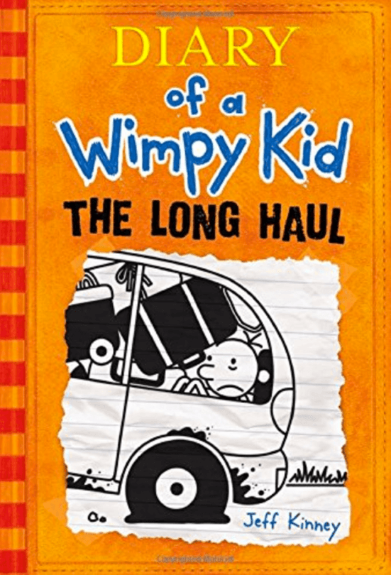 Diary of a Wimpy Kid: The Long Haul ~ Best Travel Books for Children