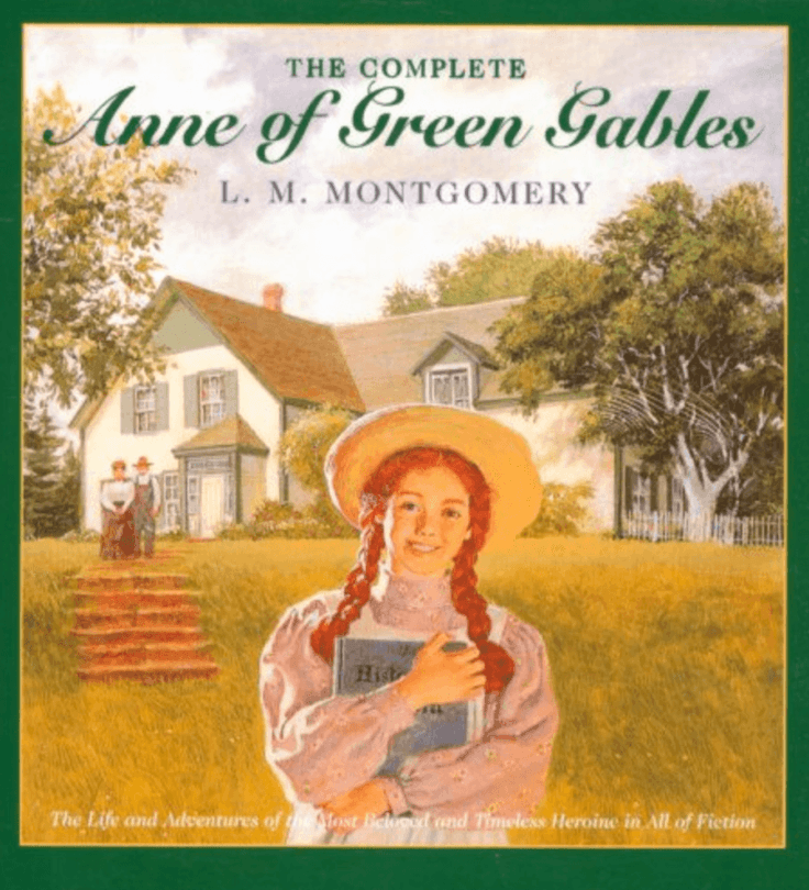 Anne of Green Gables ~ Best Travel Books for Kids
