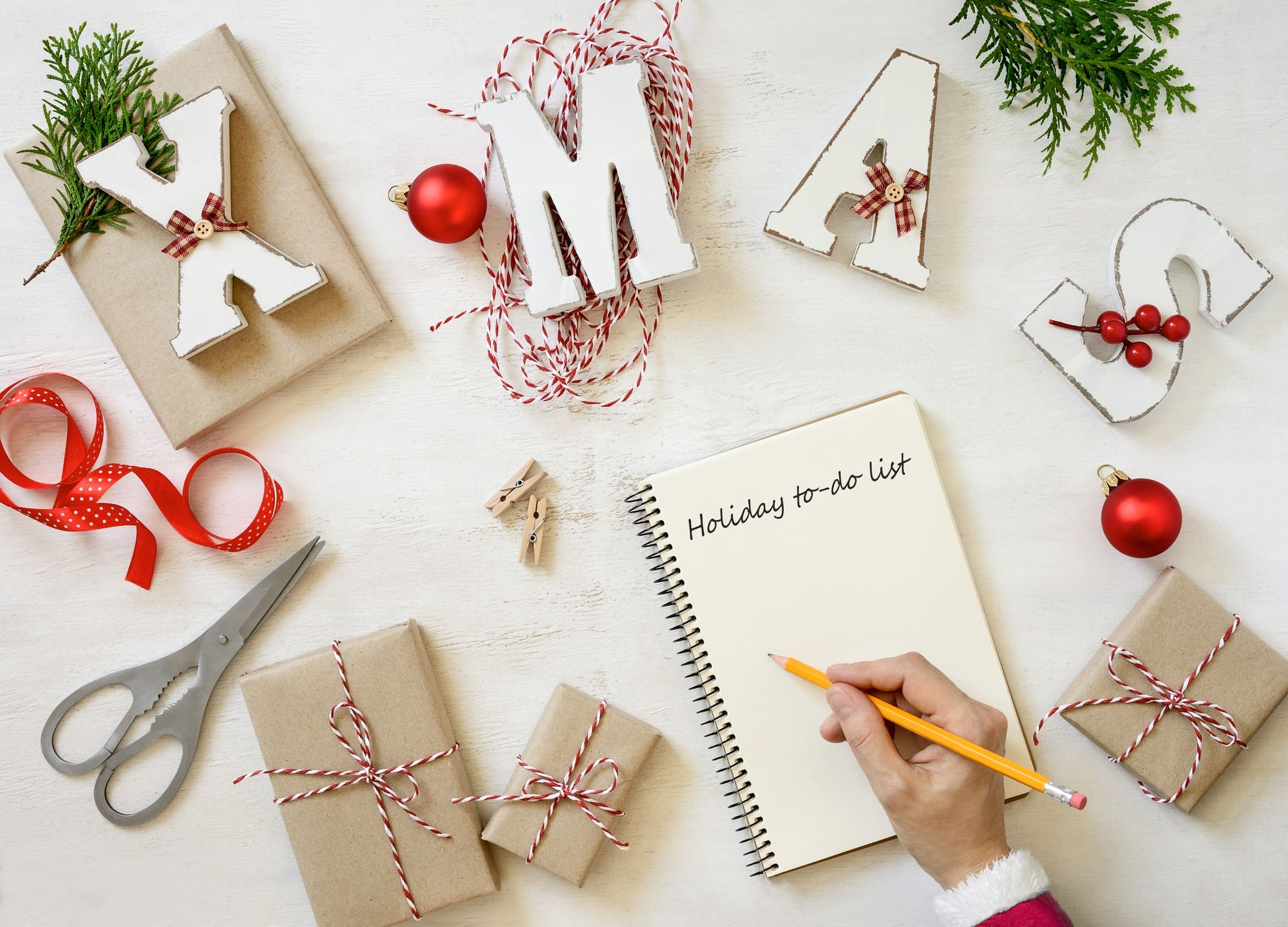 The Holiday Notebook helps with holiday season sanity