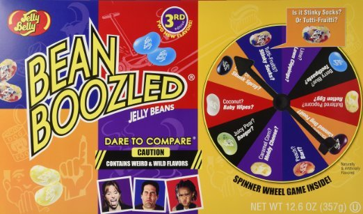 Jelly Belly Bean Boozled is fun for the whole family to play together at home or on the go
