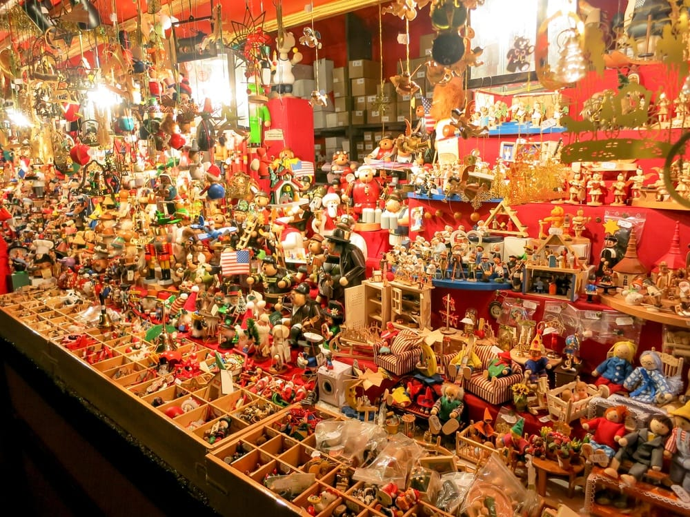 Toys for sale at the Nuremberg Christmas Market ~ Christmas Markets Around the World You Must Visit