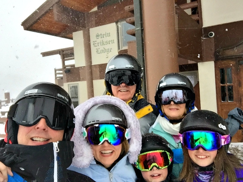 Connecting with family at Park City Resort