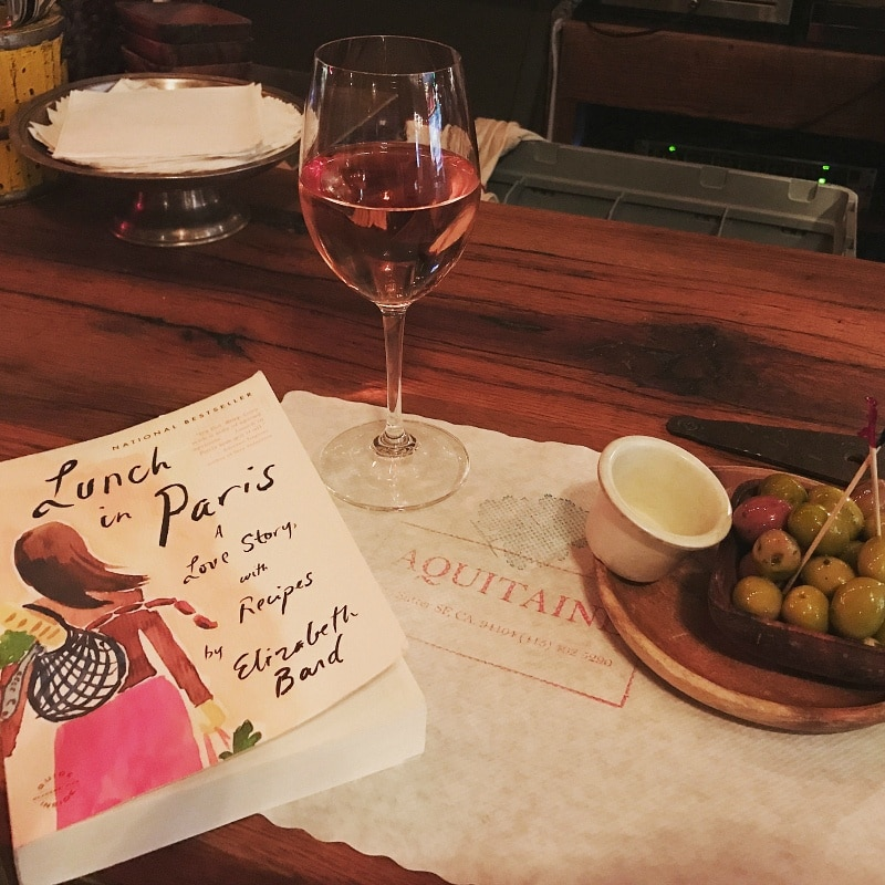 "Escape to France with a memoir like ""Lunch in Paris"" and a glass or rose wine"