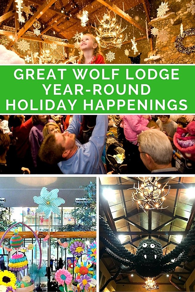 Great Wolf Lodge Holiday Happenings Year-Round