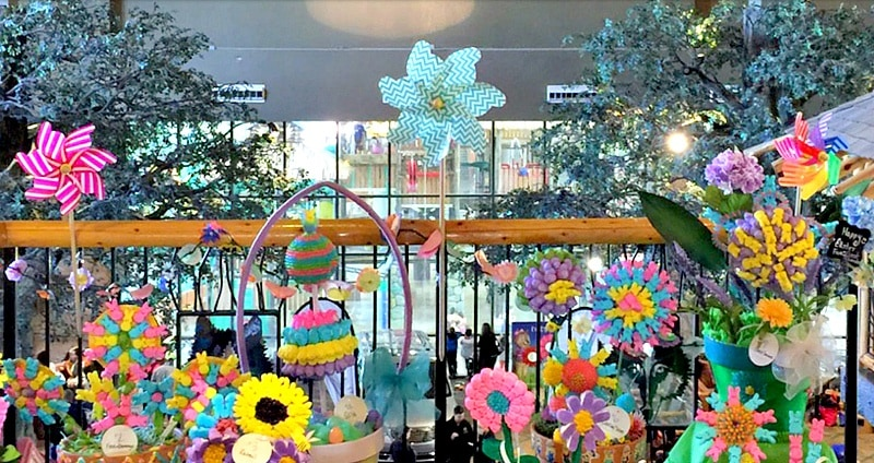 Spring-A-Palooza is a colorful celebration of all things spring at Great Wolf Lodge Southern California