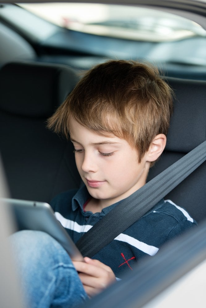 Consider bending technology rules during a long road trip ~ Holiday Road Trip Tips for a Festive and Safe Journey