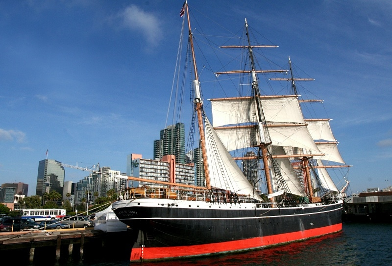 The Star of India at the Maritime Museum ~ 15 Best San Diego Attractions for Kids