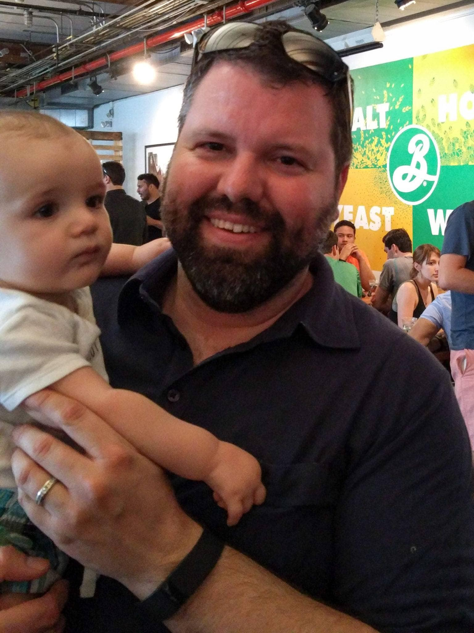Visiting Brooklyn Brewery in NYC with Daddy ~ 10 Tips for Visiting a Brewery with Kids