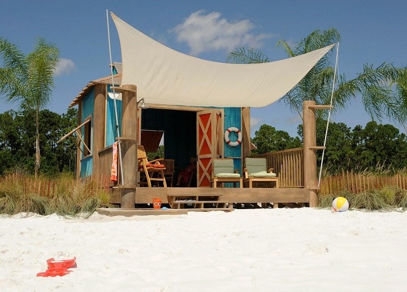 Private cabanas are available to rent on Castaway Cay ~ Dos and Don'ts of Disney's Castaway Cay