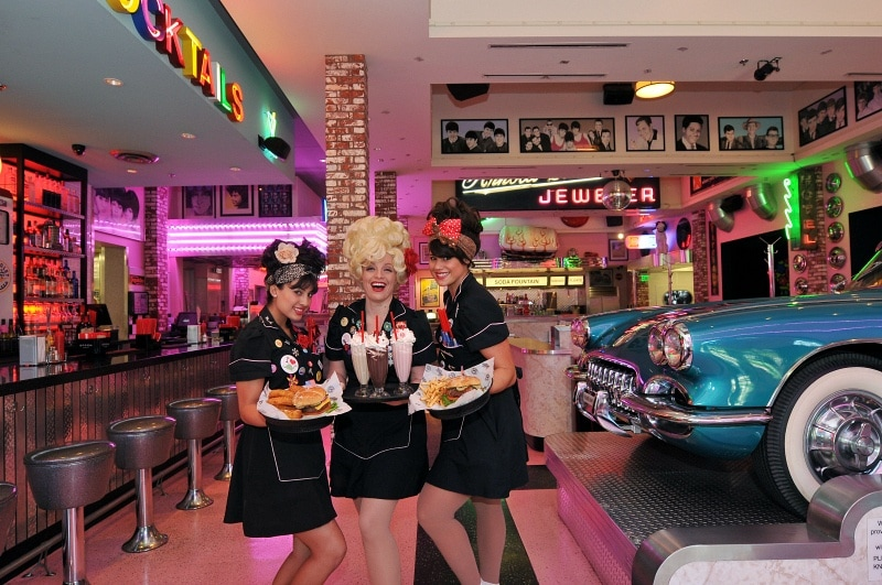 Corvette Diner ~ 15 Best San Diego Attractions for Kids