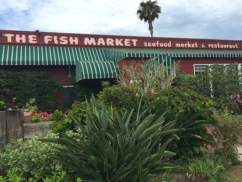 Fish Market Del Mar ~ San Diego with Kids
