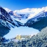 Fairmont Chateau Lake Louise winter
