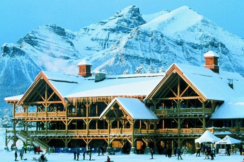 Lake Louise Lodge ~ Why Ski Lake Louise with Kids