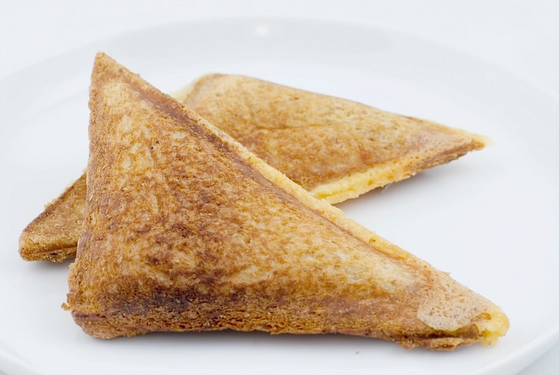 A toastie is the English version of grilled cheese
