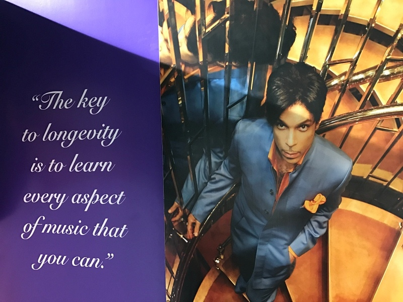 For Prince, it was always about the music