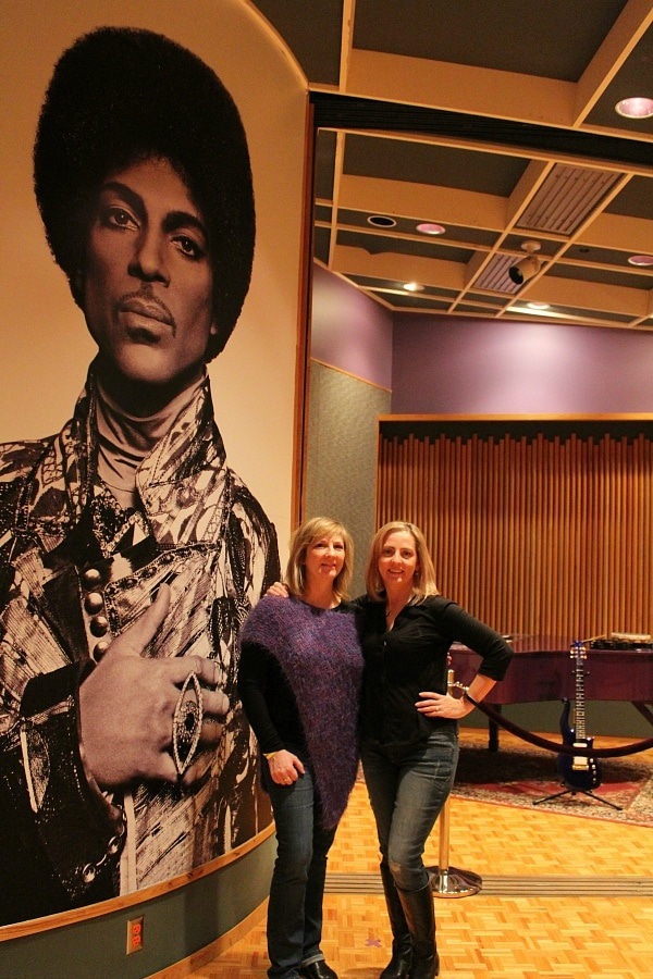 Posing with Prince at Paisley Park ~ What It's Like to Tour Paisley Park