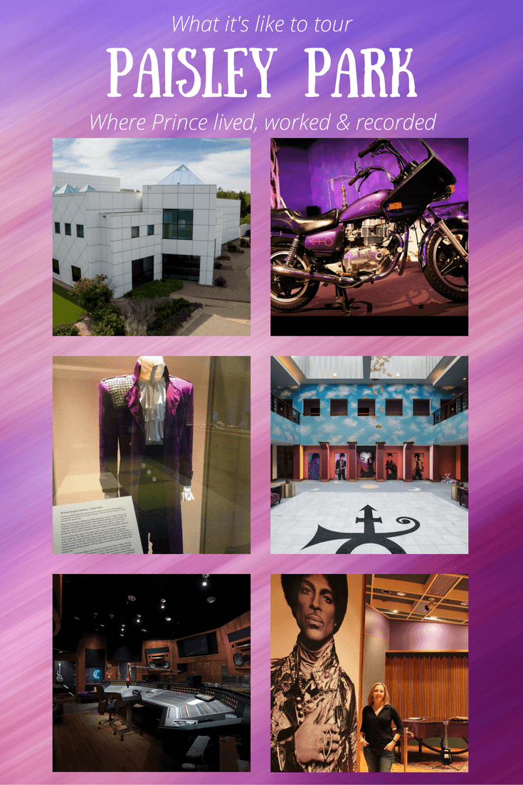 What it's like to tour Paisley Park, where Prince lived, worked and recorded
