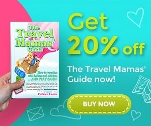 Get 20% off The Travel Mamas' Guide