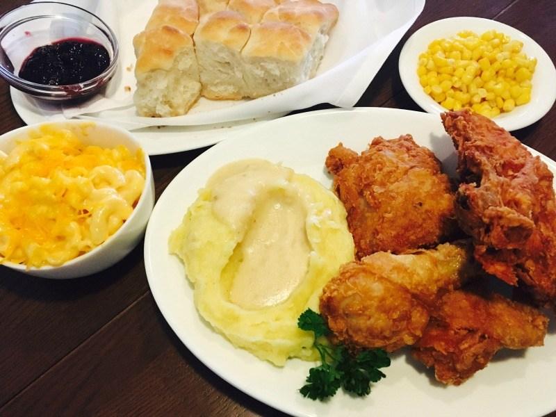 full chicken dinner