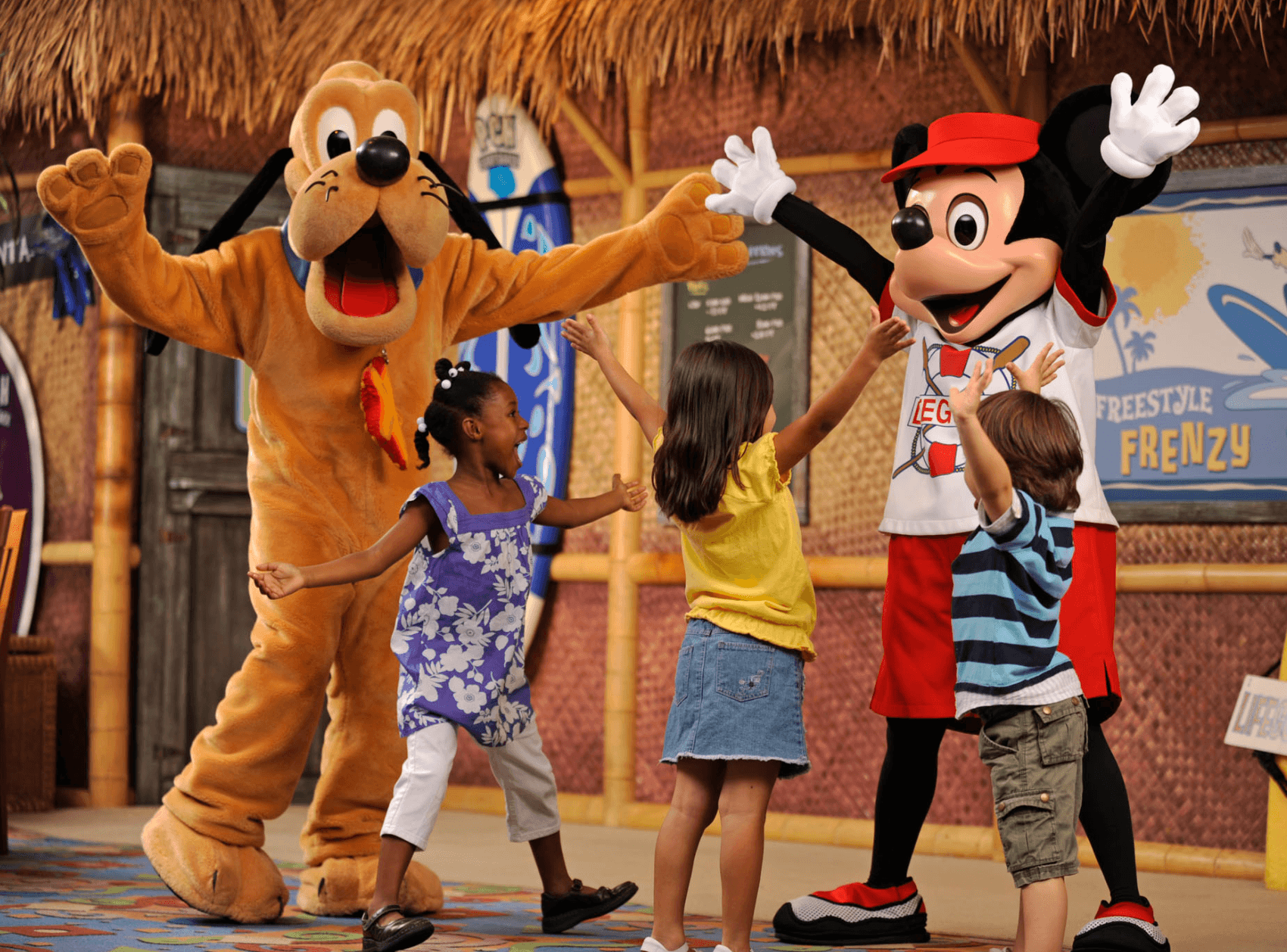 Surf's Up! Breakfast with Mickey & Friends at Disney's PCH Grill in Disney's Paradise Pier Hotel ~ Which Disneyland character meal is best for your family?