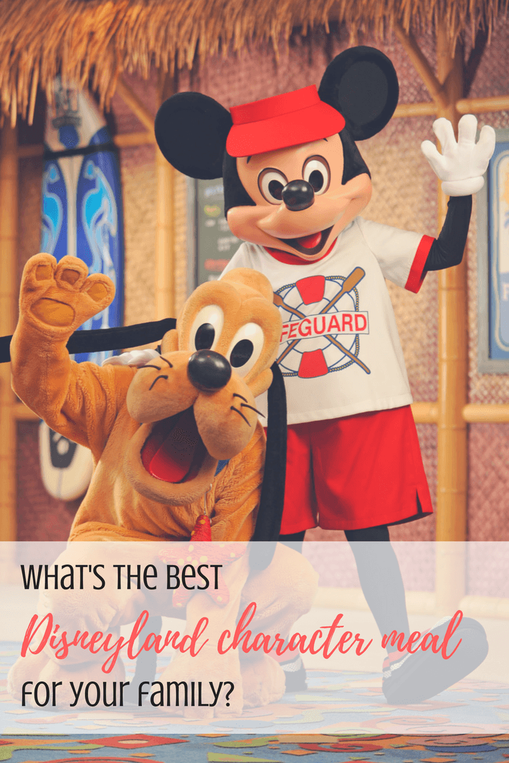What's the best Disneyland character meal for your family? TravelMamas.com breaks it down for you meal by meal!