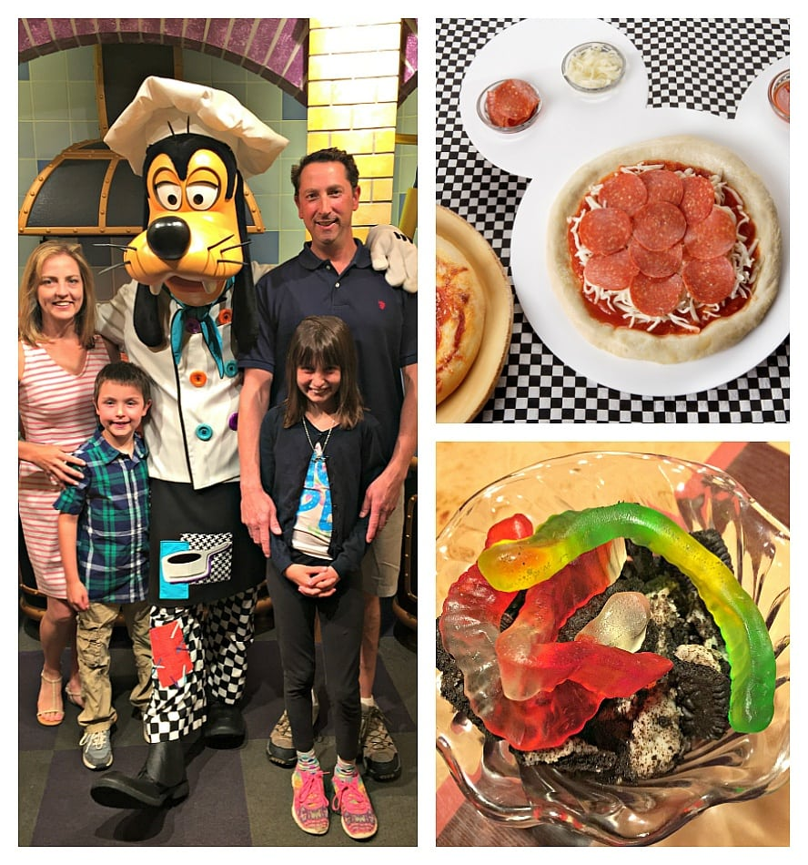 Goofy's Kitchen character meal at the Disneyland Hotel ~ Which Disneyland character meal is best for your family?