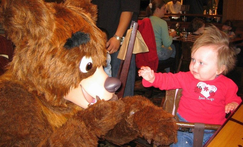 Chip n' Dale Critter Breakfast at Storyteller's Cafe ~ Which Disneyland character meal is best for your family?