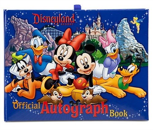 Get your Disneyland autograph book before leaving home! ~ Disneyland character meal tips