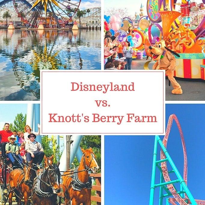Disneyland vs Knott's Berry Farm
