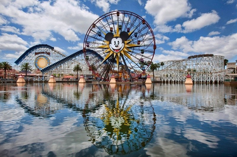 Mickey's Fun Wheel appeals to all ages, while California Screamin' is for older, more adventurous riders ~ Disneyland vs. Knott's Berry Farm
