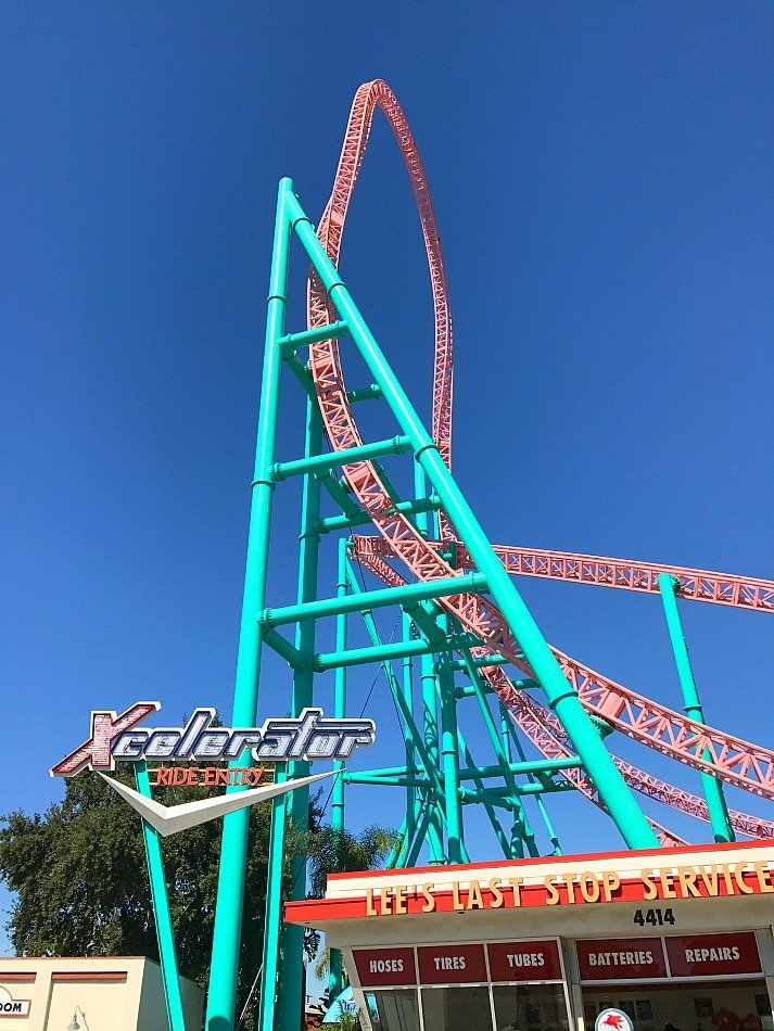 08dc414734 Xcelerator is the fastest ride at Knott s Berry Farm ~Disneyland vs Knott s  Berry Farm