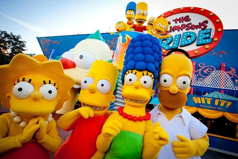 Meet the Simpsons at Universal Studios Florida (Photo credit: Universal Orlando Resort)