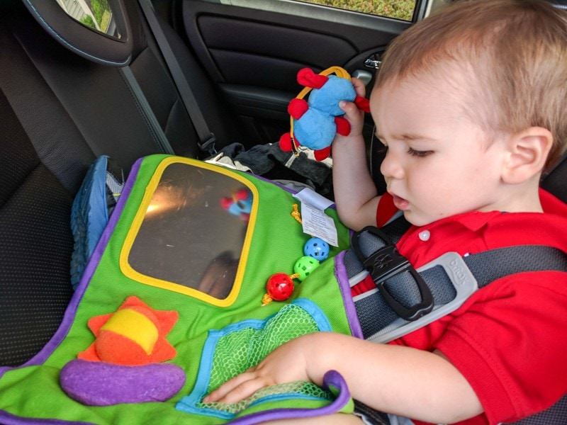 The Star Kids Play-N-Go Tray keeps toddlers busy during car rides