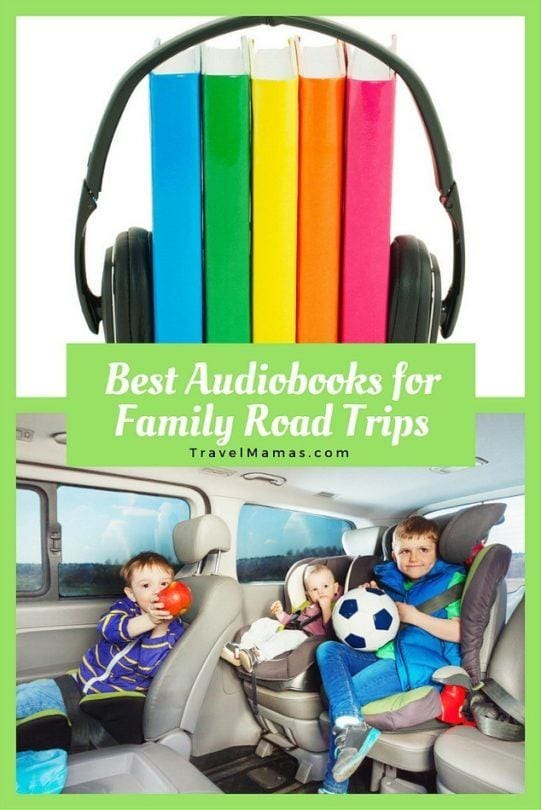 Best Audiobooks for Family Road Trips ~ for kids of all ages, from young children through teens