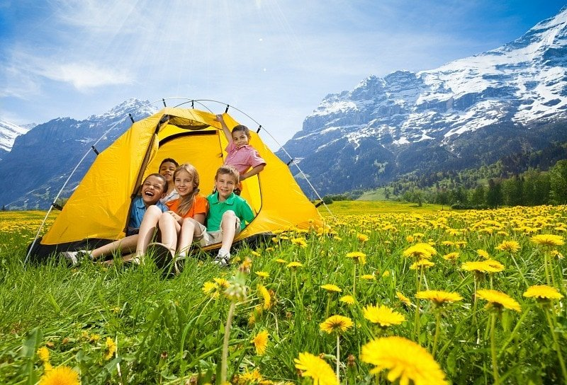 Choosing the right spot is key to a successful family camping trip ~ How to Camp with Kids