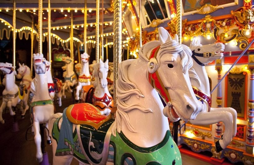 King Arthur's Carousel ~ Best Disneyland rides and attractions for babies and toddlers