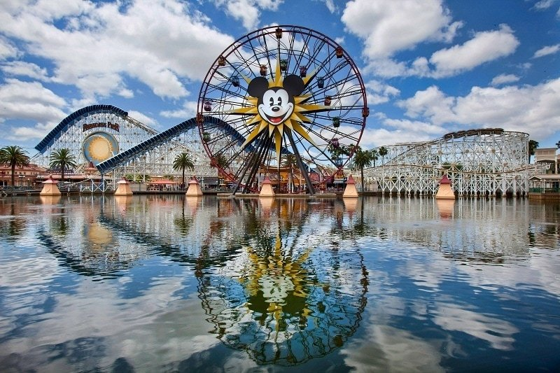 Mickey's Fun Wheel ~ Best Disneyland rides and attractions for babies and toddlers