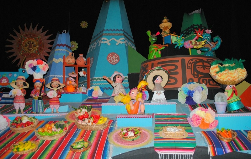 it's a small world ~ Best Disneyland Rides and Attractions for Babies and Toddlers