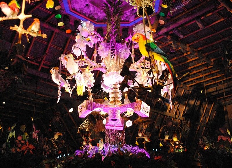 Enchanted Tiki Room ~ Best Disneyland rides and attractions for babies and toddlers