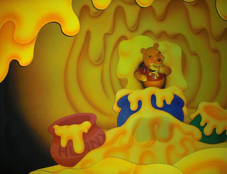 Winnie the Pooh's many adventures ~ Best Disneyland rides and attractions for babies and toddlers