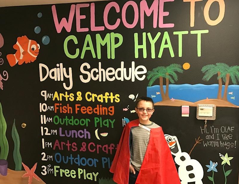 Super hero day at Huntington Beach Resort & Spa's Camp Hyatt ~ Huntington Beach with Kids
