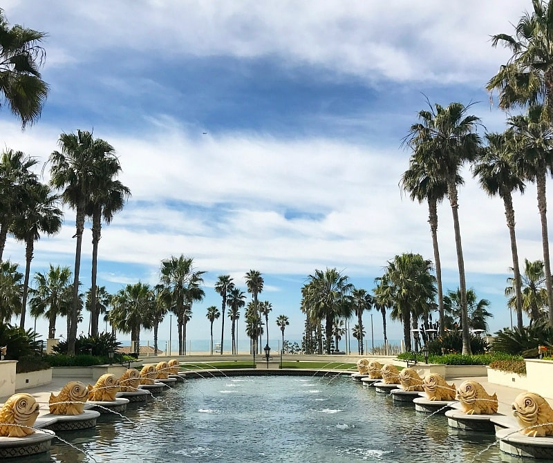 Pools and fountains abound at Huntington Beach Resort & Spa ~ Huntington Beach with Kids