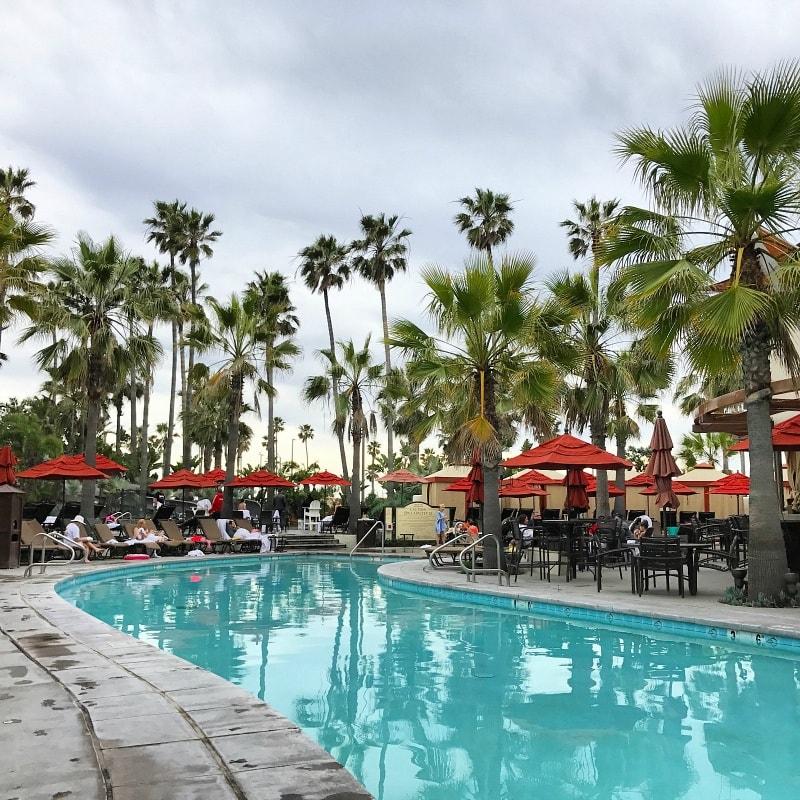 One of the many pools at Hungtington Beach Hyatt Resort & Spa ~ Huntington Beach with Kids