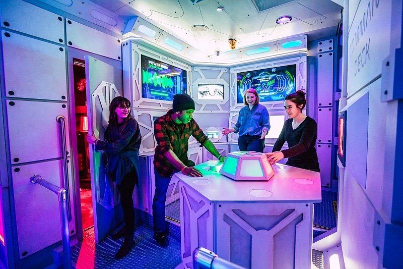 Mission: Mars is one of the thrilling themes available from Escape Games ~ 30 Fun Things to Do at Mall of America Besides Shop