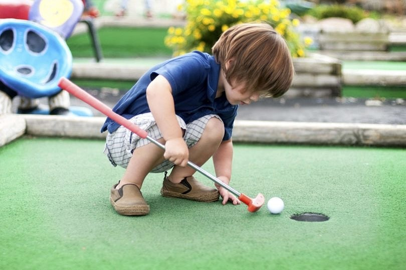 Moose Mountain Adventure Golf is home to 18 holes of miniature golf ~ 30 Fun Things to Do at Mall of America Besides Shop