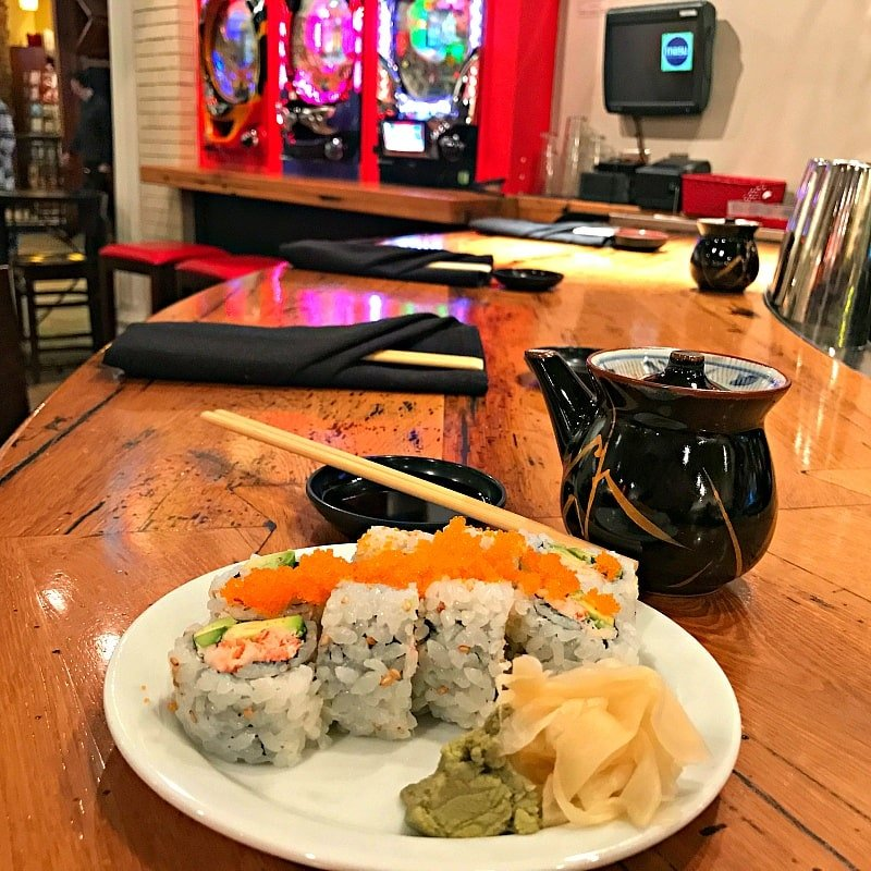 Sushi at Mall of America ~ 30 Fun Things to Do at Mall of America Besides Shop